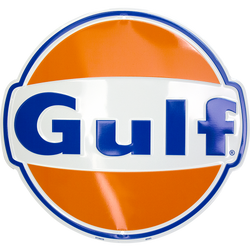 Sign - Gulf Die cut