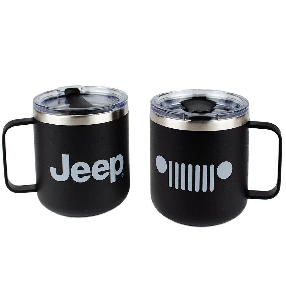 Mug - Jeep® Powder Coated Camper - Black