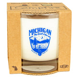 Candle - Michigan Shield - various scents