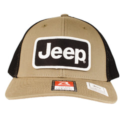 Hat - Jeep Richardson Olive/Black Patch Hat Flexfit