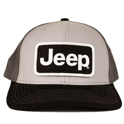 Hat - Jeep Richardson Black/Grey/Charcoal Patch Hat