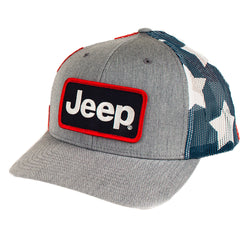 Hat - Jeep Richardson Stars and Stripes Patch Hat