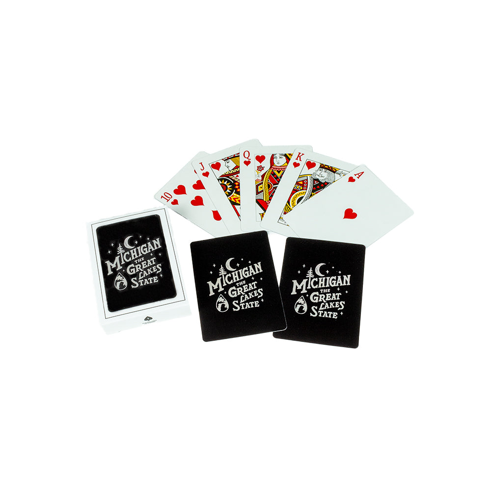 Playing Cards - Michigan Vintage Font