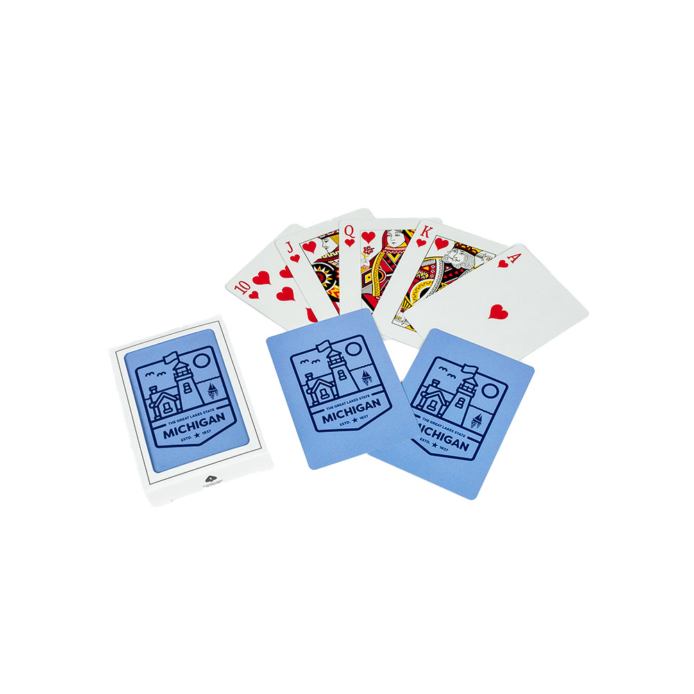 Playing Cards - Michigan Lighthouse