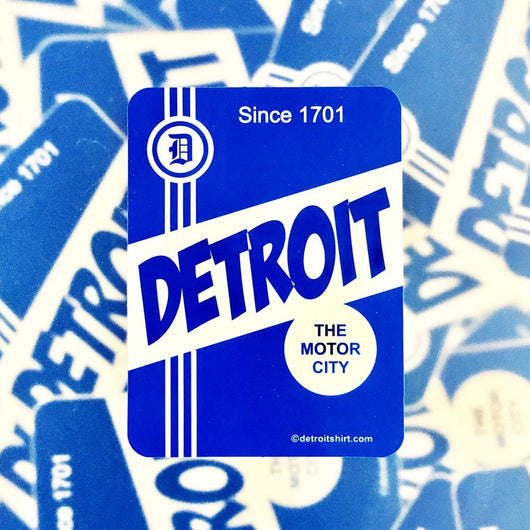 Sticker - Detroit Label-Sticker-Detroit Shirt Company