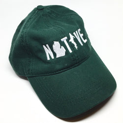 Hat - Michigan NATIVE Unstructured Green