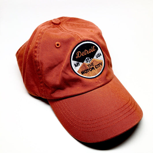 Hat - Orange Reel Unstructured