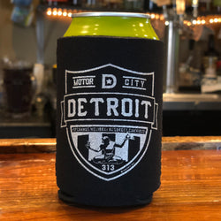 Koozie - Detroit Shield