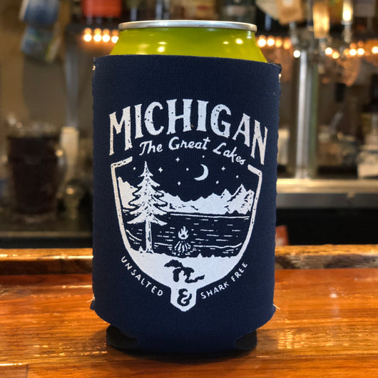 Koozie - Michigan Shield