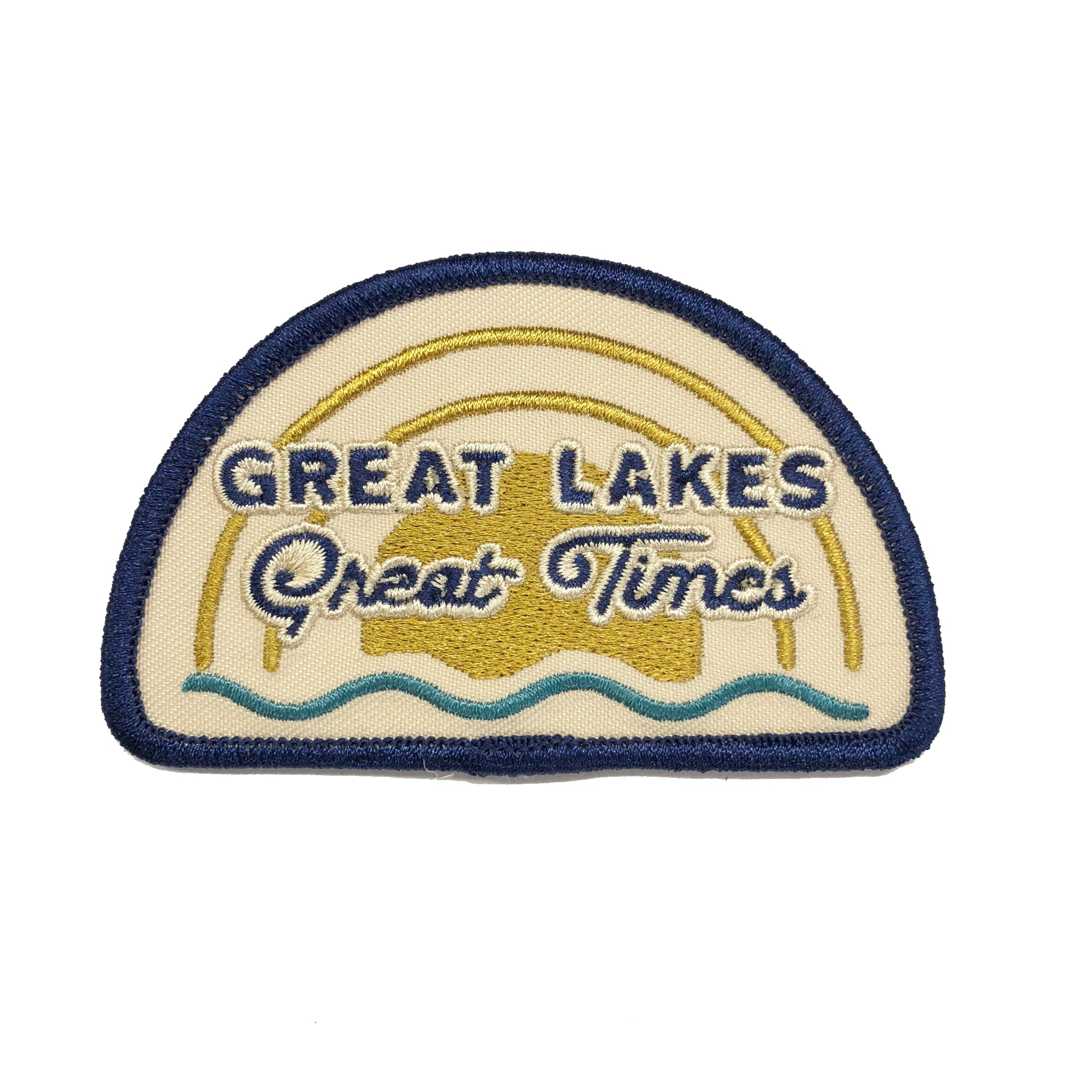 Patch - Michigan Great Lakes Great Times