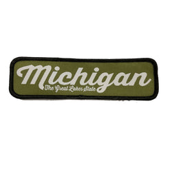 Patch - Michigan The Great Lakes State Script