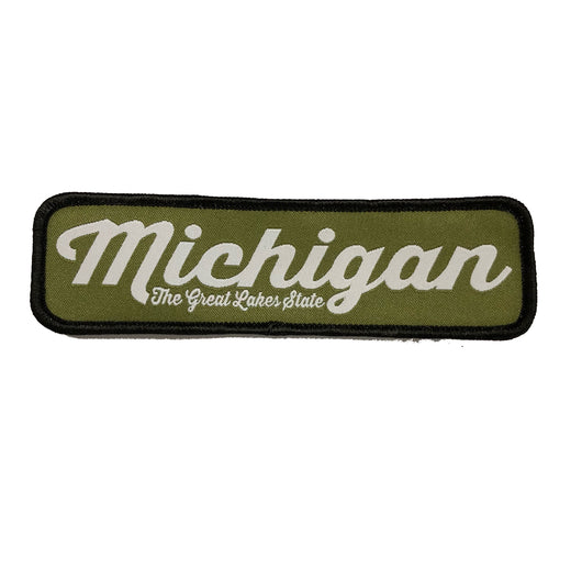 Patch - Michigan The Great Lake State Script