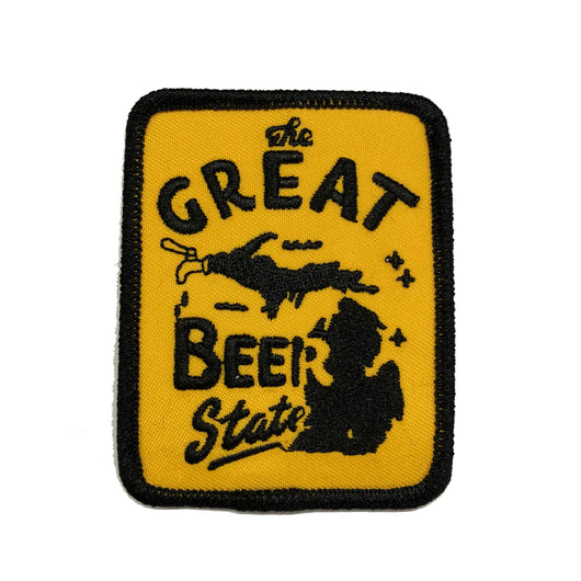 Patch - Michigan The Great Beer State