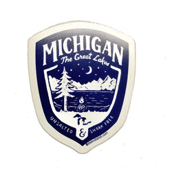 Magnet - Michigan Shield