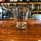 Shot Glass - Michigan Vintage Font