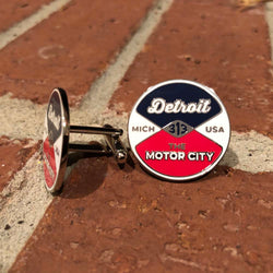 Cufflinks - Detroit Reel