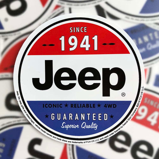 Sticker - Jeep Superior Quality