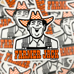 Sticker - Farmer Jack
