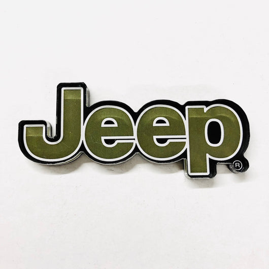 Magnet - Jeep Text Logo