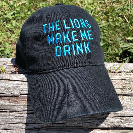 Hat - The Lions Make Me Drink