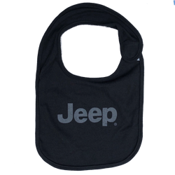 Baby Bib - Jeep - Black