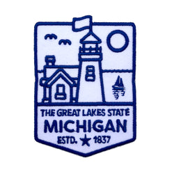 Patch - Michigan Lighthouse