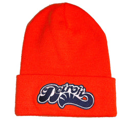 Hat - Detroit Sweep Flip Knit - Orange