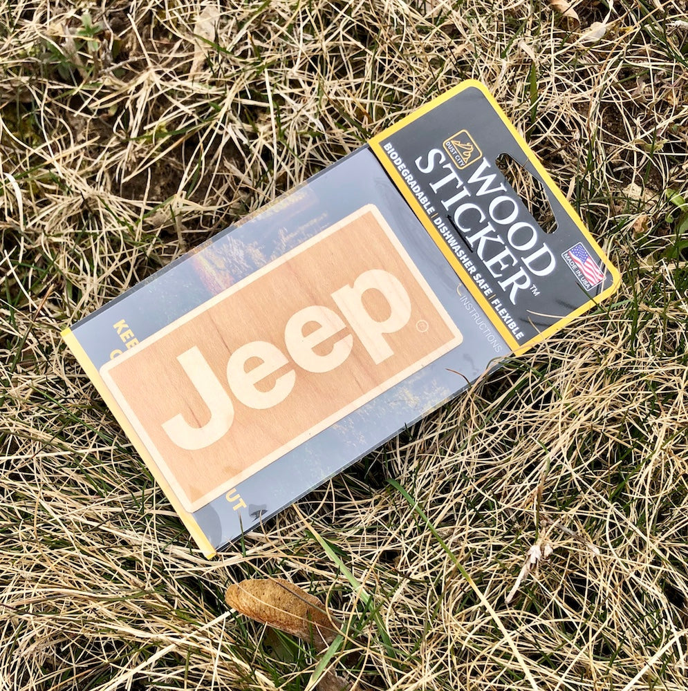 Wood Decal - Jeep®