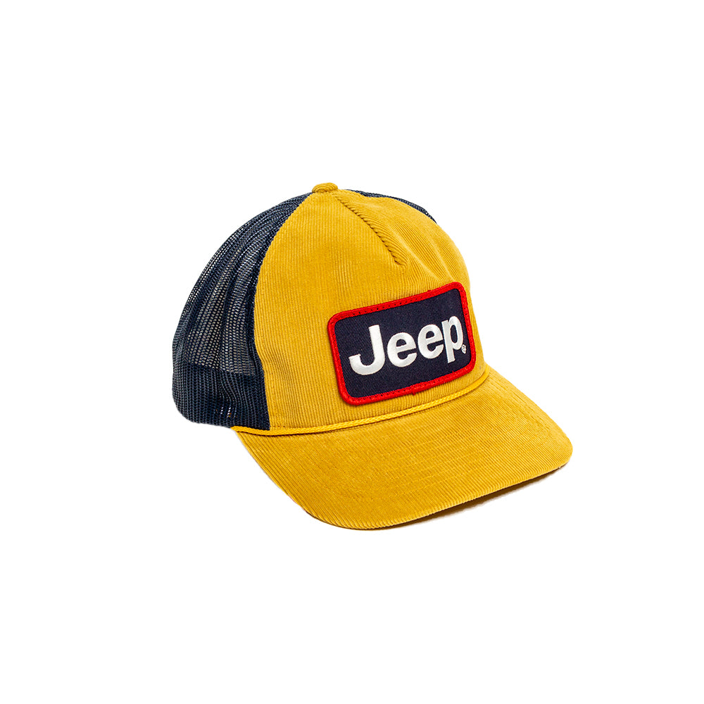 Hat - Jeep Richardson Troutdale Patch Amber Gold/Navy