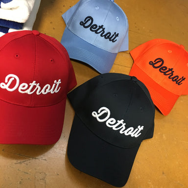 Hat - Youth Detroit Script-Youth-Detroit Shirt Company
