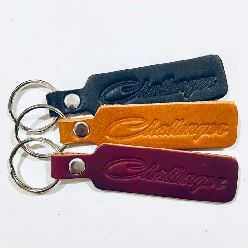 Keychain - Dodge Challenger Leather