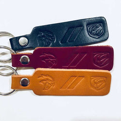Keychain - Dodge SRT Hellcat and Viper Leather