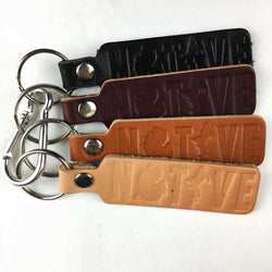 Keychain - Michigan NATIVE leather-Keychain-Detroit Shirt Company