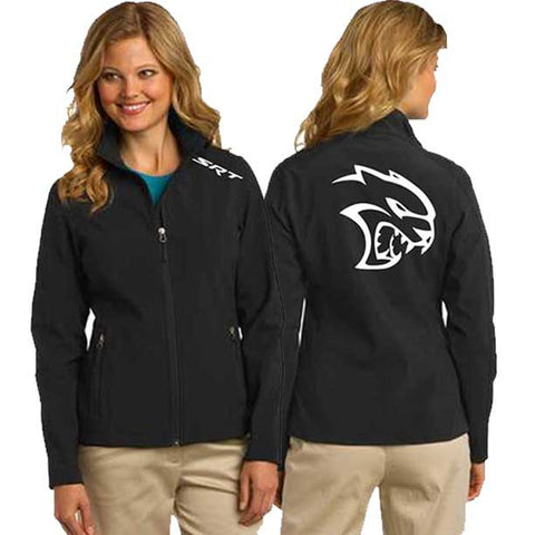Jacket - Ladies Soft Shell Dodge SRT Hellcat