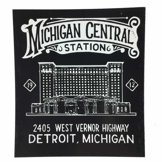 Magnet - Michigan Central Station-Magnet-Detroit Shirt Company