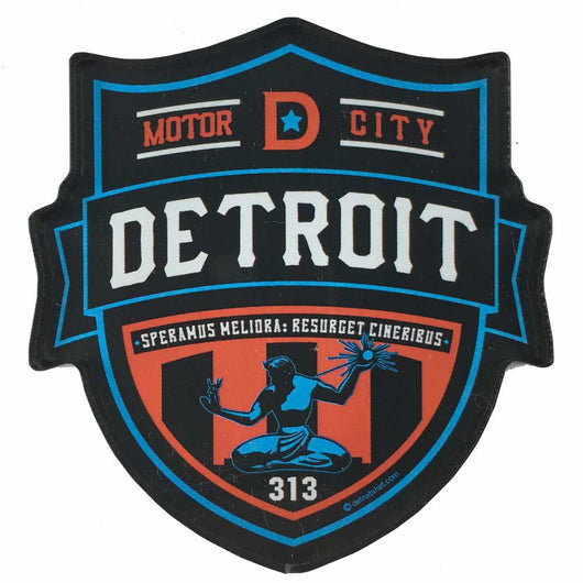 Magnet - Detroit Shield-Magnet-Detroit Shirt Company