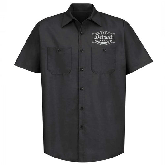 Mens/Unisex Detroit Buckle Black – Dickies Mechanic Shirt