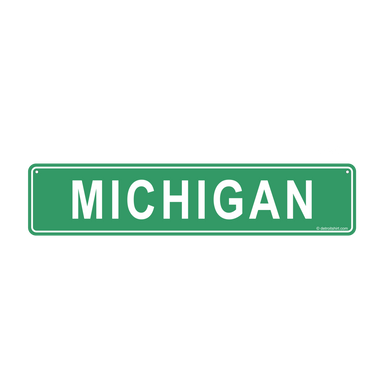 Sign - Michigan-Sign-Detroit Shirt Company
