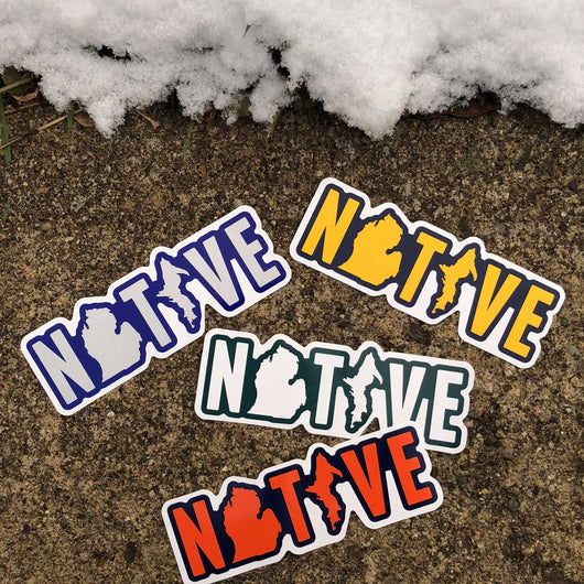 Sticker - Michigan NATIVE