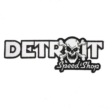 Patch - Detroit Speed Shop Bones-Patches-Detroit Shirt Company