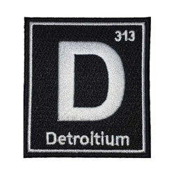 Patch - Detroitium-Patches-Detroit Shirt Company