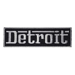 Patch - Detroit Grigio-Patches-Detroit Shirt Company