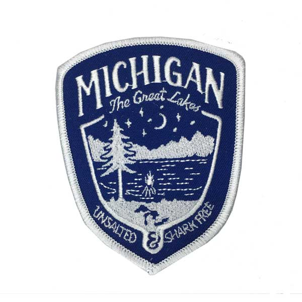 Patch - Michigan Shield