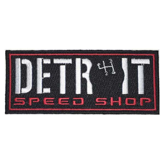Patch - Detroit Speed Shop Shifter-Patches-Detroit Shirt Company