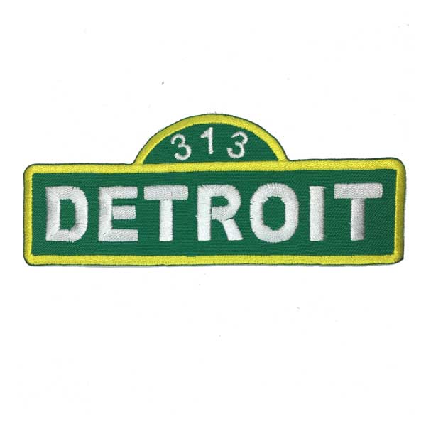 Patch - Detroit Street Sign