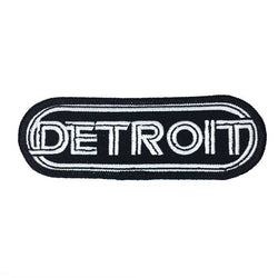 Patch - Detroit Wrap Black