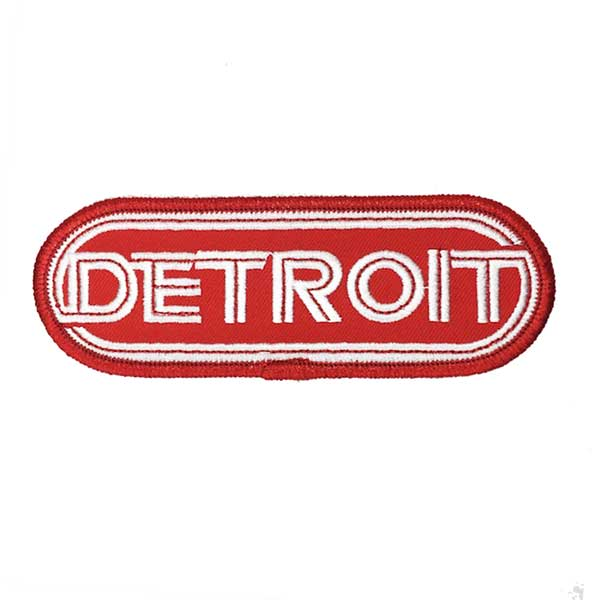 Patch - Detroit Wrap Red