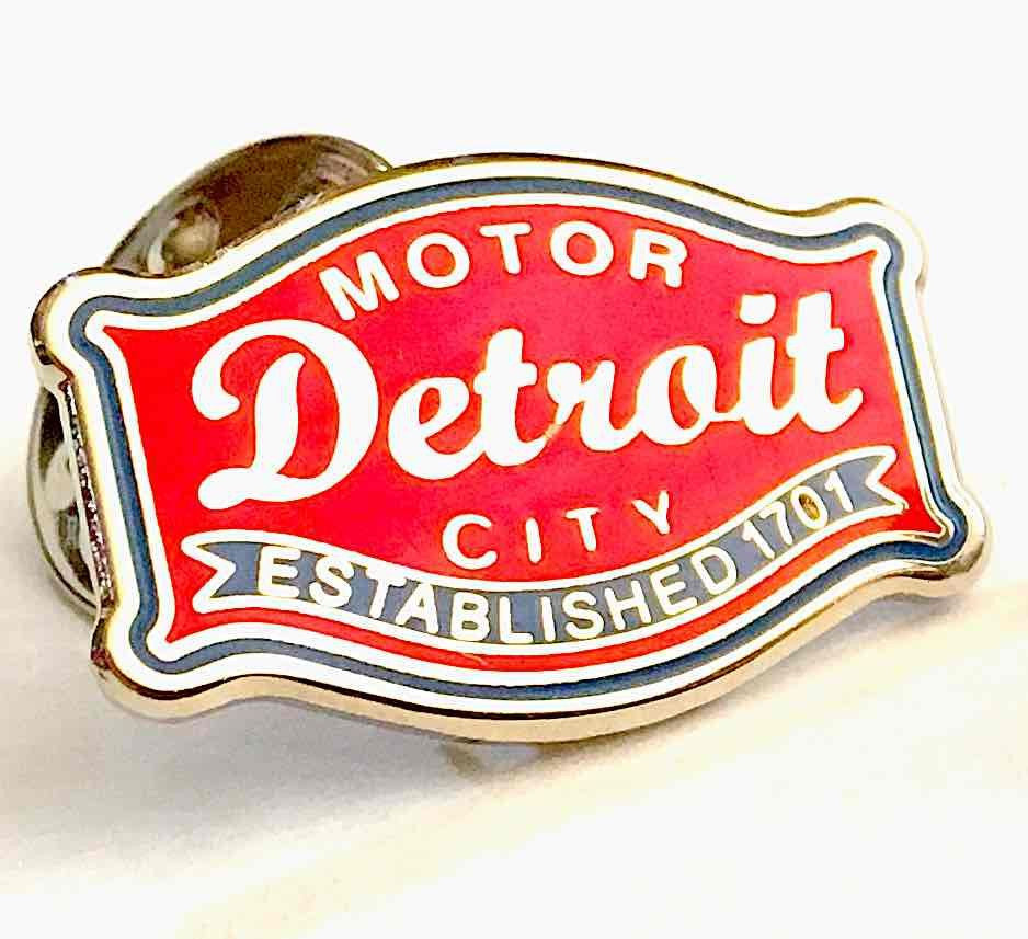Pin - Detroit Buckle-Accessories-Detroit Shirt Company