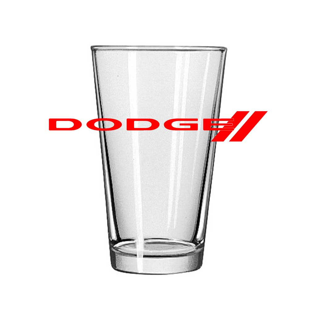 Pint Glass - Dodge-Glassware-Detroit Shirt Company