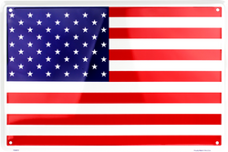 Sign - American Flag